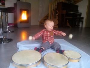 Musique, percussions