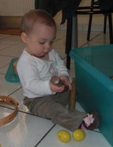 chanter avec bébé, plein d'instruments