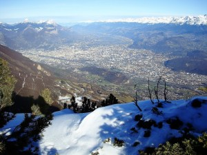 Grands-Parents, vue de Grenoble