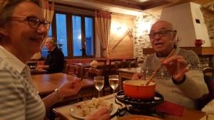 Pralognan, fondue