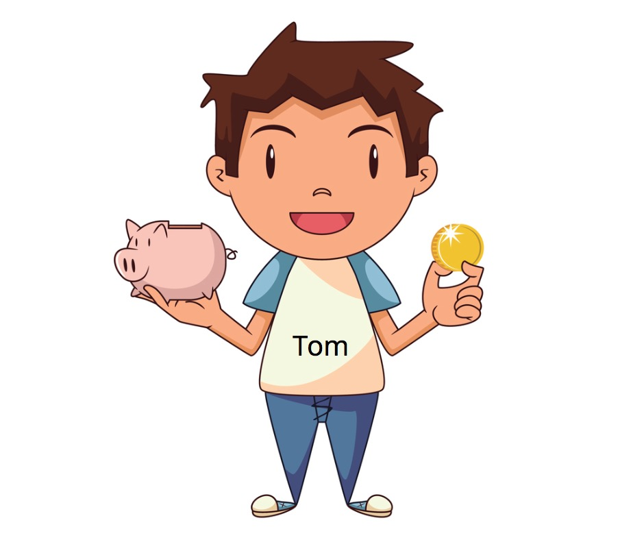 Petit Tom d'affaires