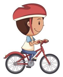 Tom et son vélo
