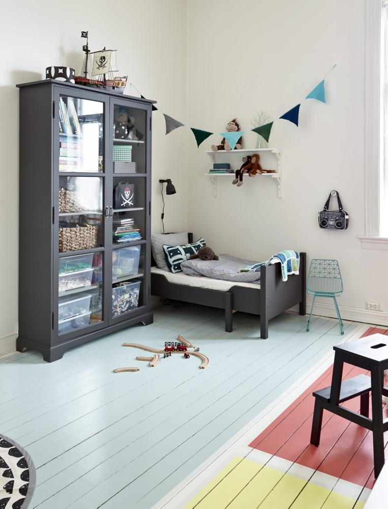 Fun Ways To Paint Your Kid S Bedroom Floors Petit Small