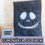 DIY de Halloween: Lanterna Jack Skellington