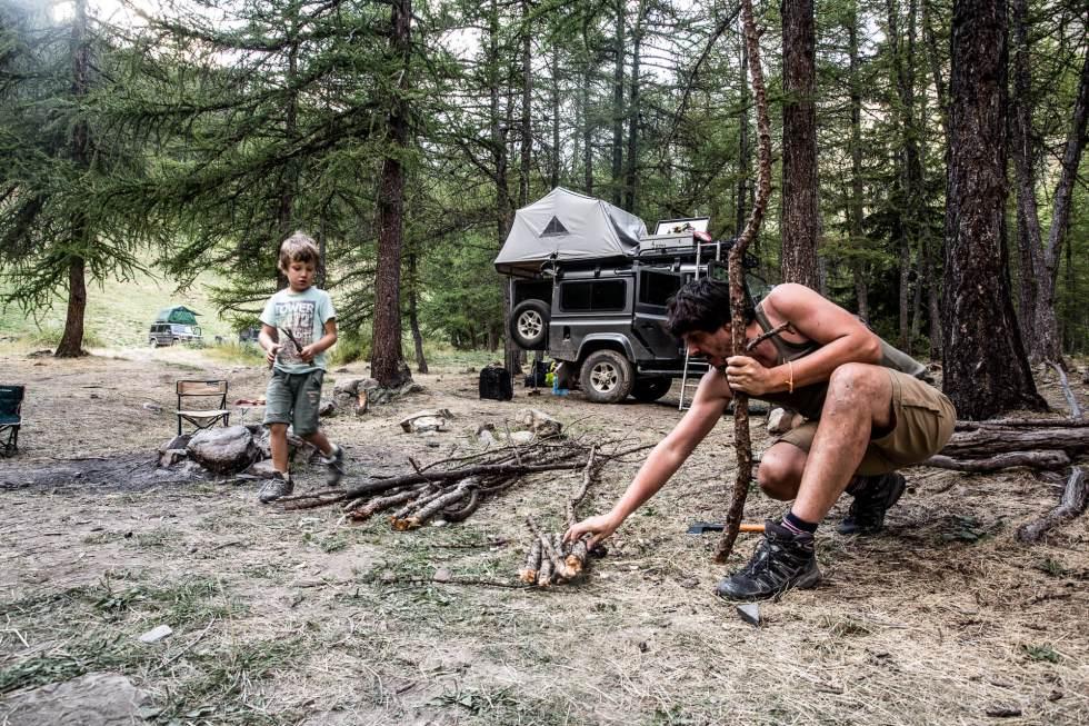 Comment faire un bon feu de camp