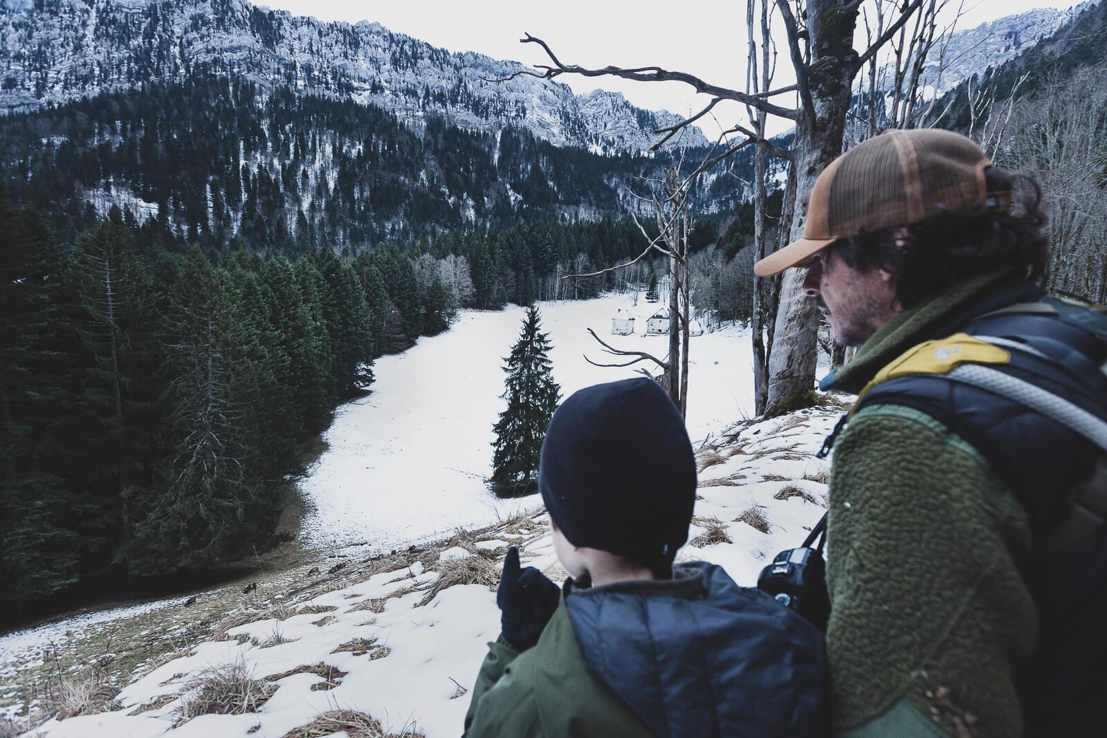 observer les animaux sauvages avec un enfant