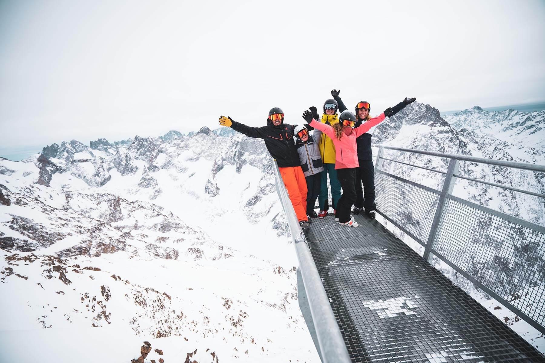 Belvédère des Ecrins - Les Deux Alpes ©Luka Leroy / OT les Deux Alpes