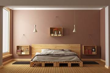canapé palette moderne