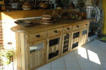 fabriquer canapé bois palette