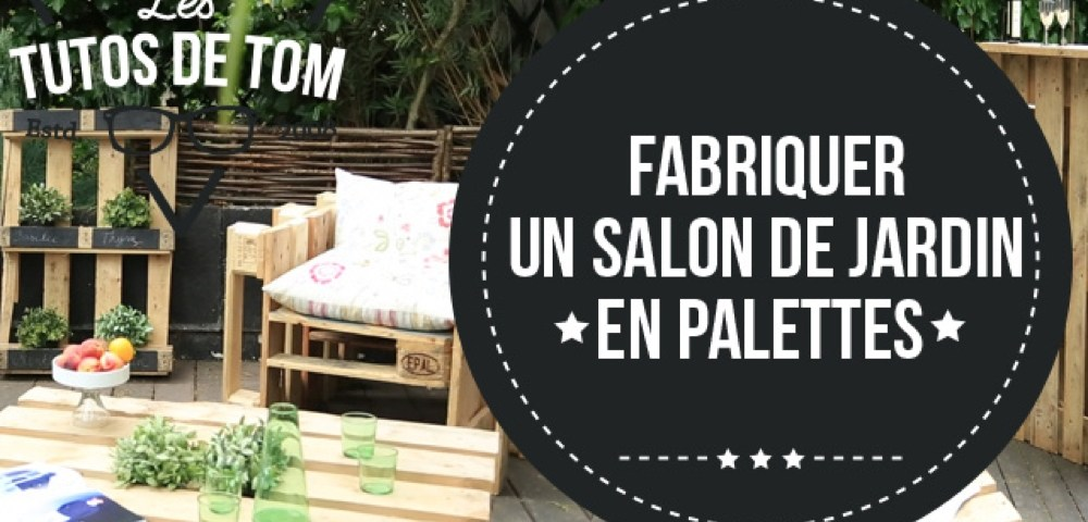 salon de jardin palette tuto canap palettes. Black Bedroom Furniture Sets. Home Design Ideas