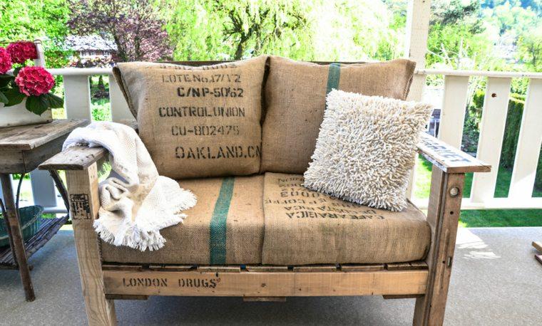 Canapé De Jardin En Palette
