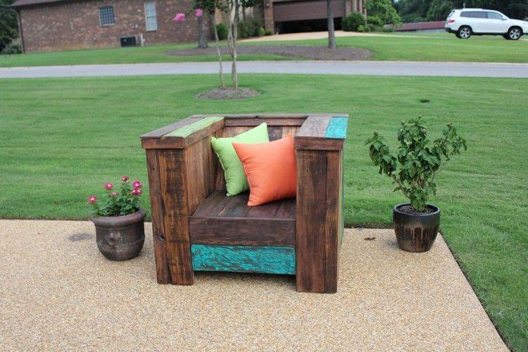 fabriquer fauteuil palette. Black Bedroom Furniture Sets. Home Design Ideas