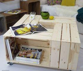 Table Salon En Palette Bois