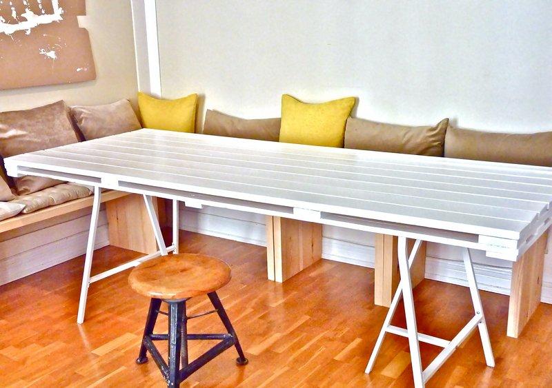 fabriquer des meubles en palettes