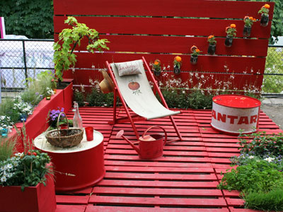 Terrasse Palette En Bois
