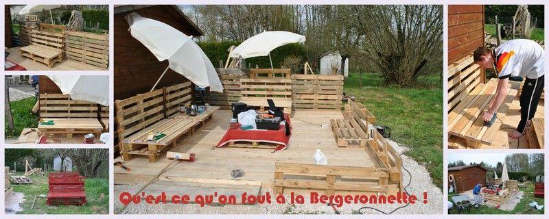 Construction En Palette De Bois