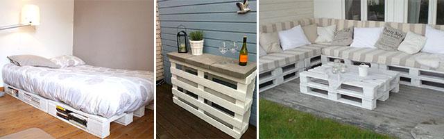 Construire un meuble avec des palettes canap palettes - Construire des meubles avec des palettes ...