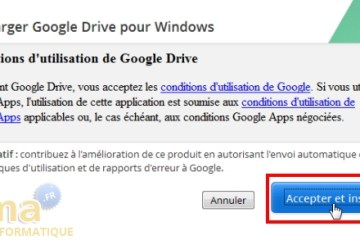 supprimer google drive