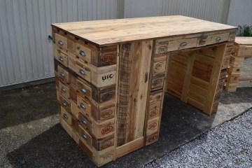 mobilier en palettes de bois