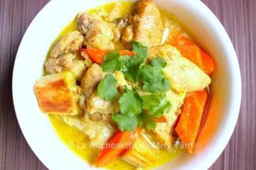Poulet Coco Thai