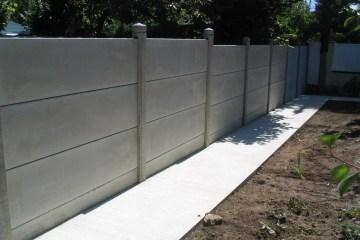 clôture pvc sur muret lapeyre