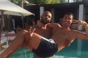 ronaldo et son compagnon