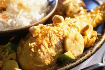 cuisse poulet curry crème fraîche