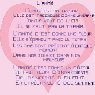 Lettre Amie