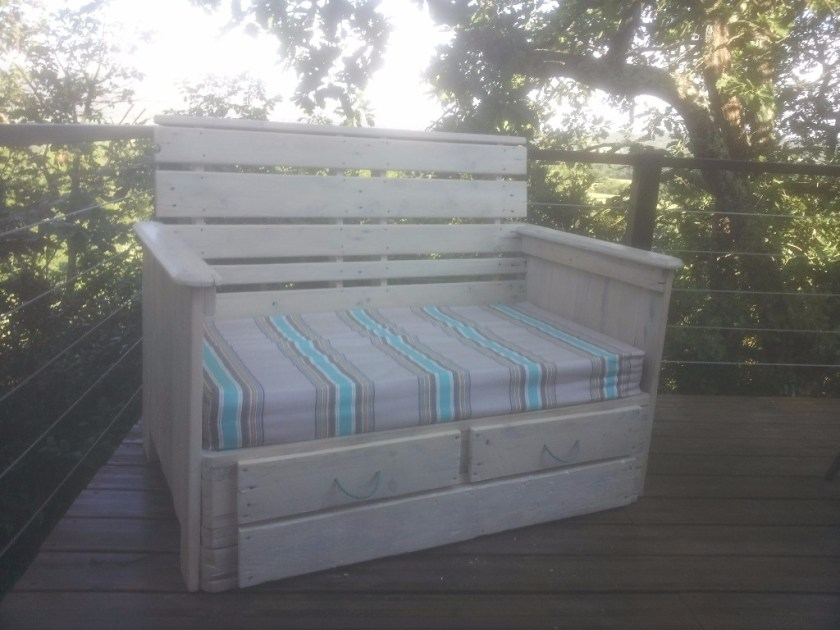 tête de lit palette bois