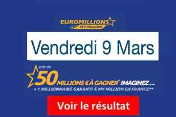 euromillions résultat du jour