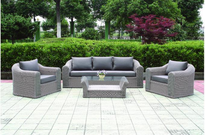 salons de jardin en aluminium