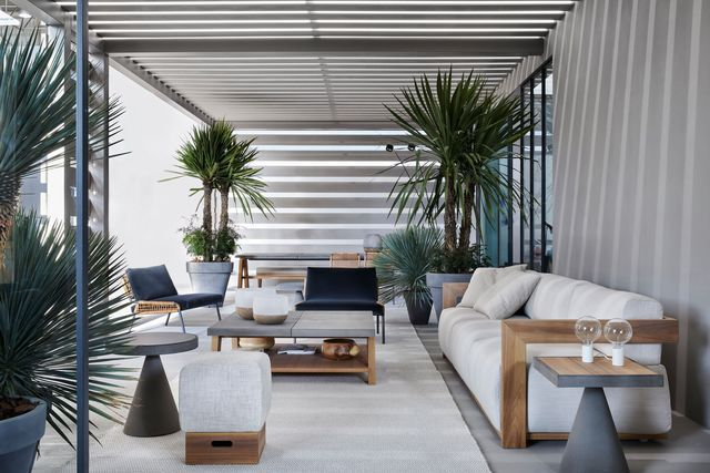 terrasse id e am nagement canap palettes. Black Bedroom Furniture Sets. Home Design Ideas