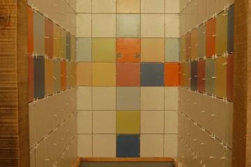 pose faïence dans salle de bain