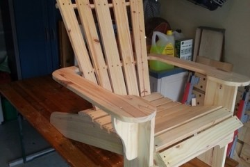 fauteuil adirondack plan gratuit