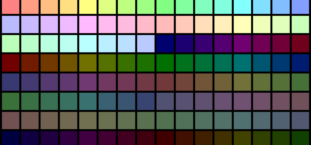 palette taille