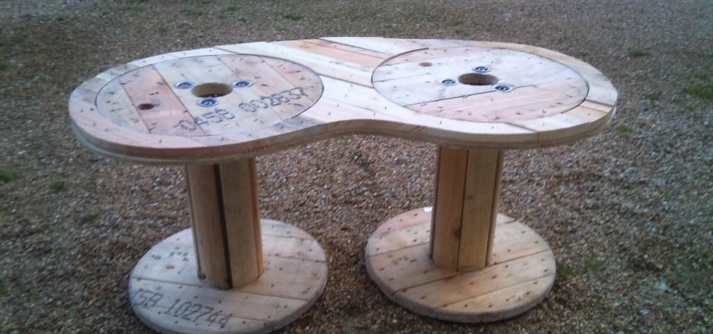 table basse avec palette bois