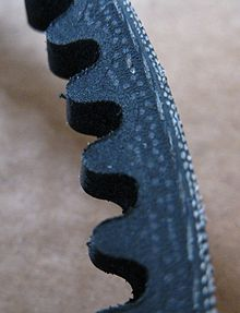 courroie trapézoïdale crantée
