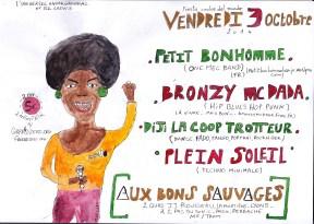 Aux Bons sauvages, Lyon, 10/2014