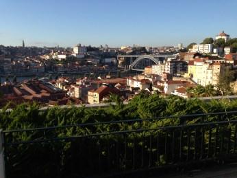 Vue depuis la chambre Yeatman Porto