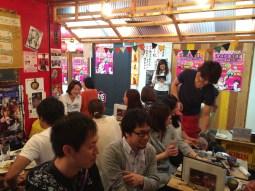 South Korean, Spanish, Japanese place in Ebisu Yokocho