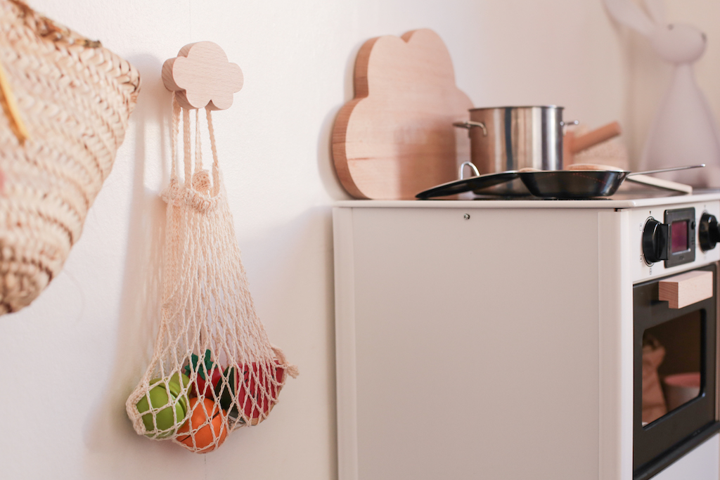 La petite cuisini re brio petit champignon de paris for Cuisiniere design