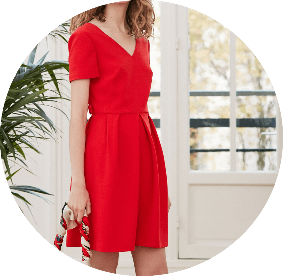 robe-rouge-rosaline-claudie-pierlot
