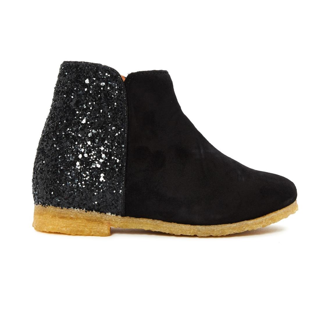 emile-et-ida-boots-cuir-chevre-velour-paillettes
