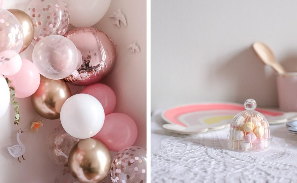 anniversaire-mila-4-ans-rose-caramelle-decoration-princesse-rose-gold-meri-meri