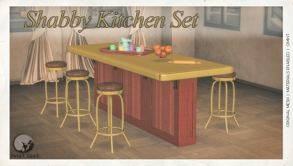 Shabby Kitchen Set @ TCF