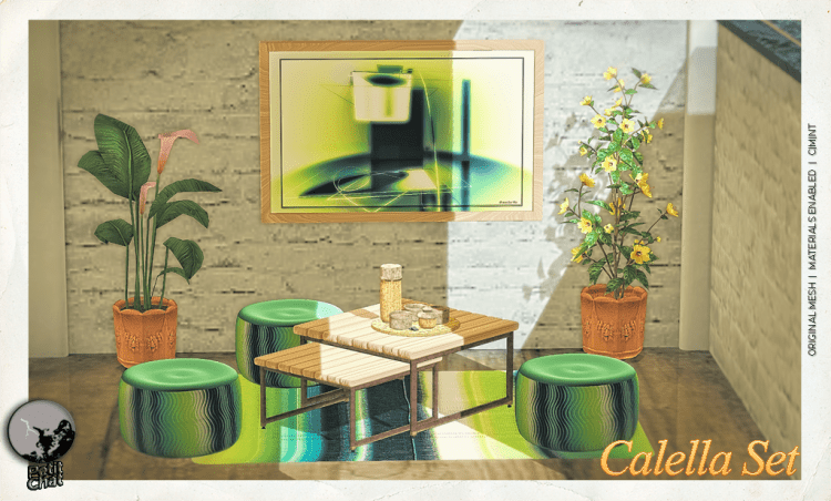 Calella Set : Mainstore release graphic
