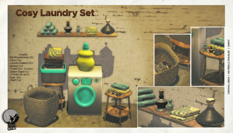 Cosy Laundry @ The Secret Sale Sundays this week-end ! graphic