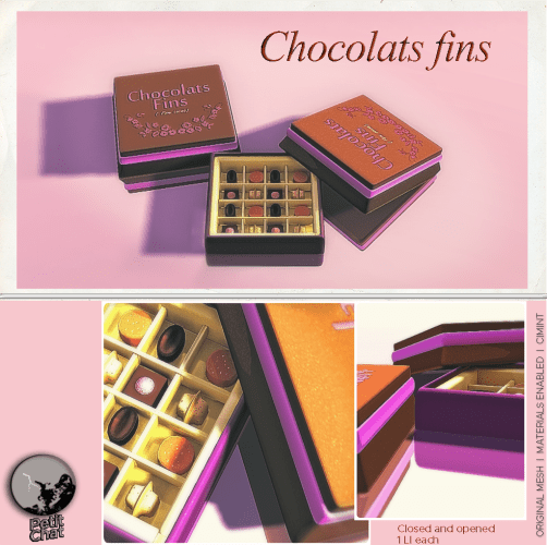 Exclusive Xmas Groupgift : Chocolats fins graphic