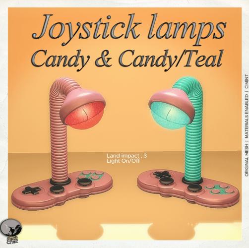 Joystick Lamps @ Nerdcon Event (July) graphic