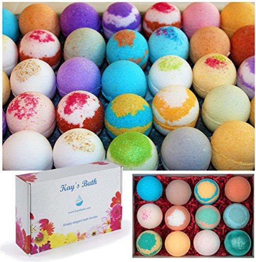 Bath Bombs by Kays Bath | Mother's Day Gift Guide